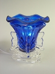 C330 Blue Crystal Electric Aroma Lamp
