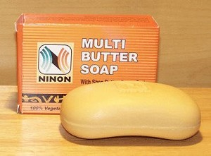 Ninon Multi Butter Soap With Shea Butter Cocoa Butter Mango